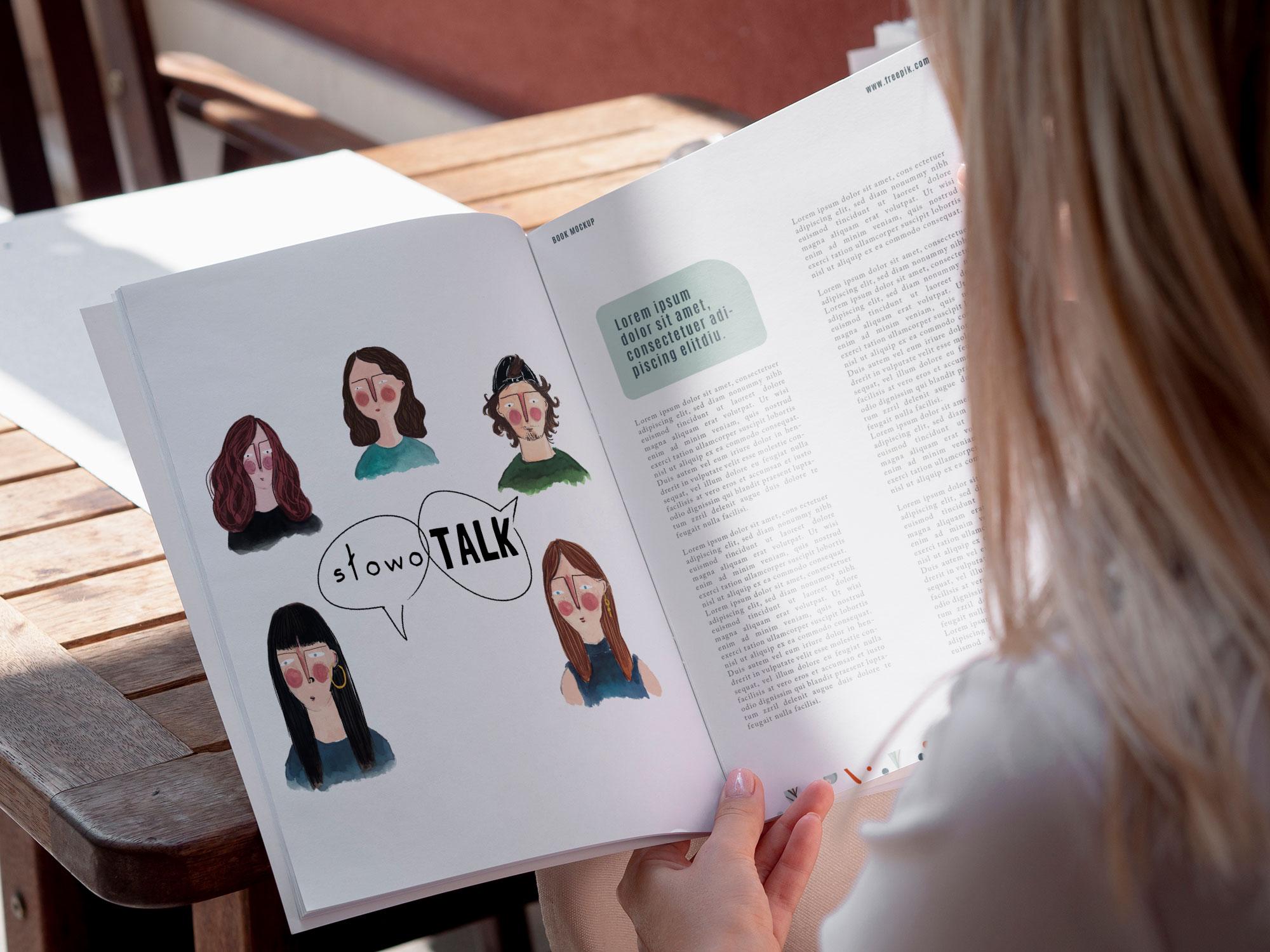 grafika do czasopisma